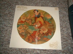 Snow White and the Seven Dwarfs Sealed Soundtrack Picture Disc Disney #3101 LP