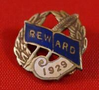 Vintage Reward 1929 Pin Pinback