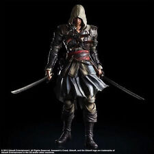 "10"" ASSASSIN'S CREED 4: BLACK FLAG EDWARD KENWAY PLAY ARTS KAI TOY ACTION FIGURE"