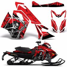 Decal Graphic Wrap Kit Ski Doo Sled Snowmobile REV XS Renegade MXZ 13+ REAP RED