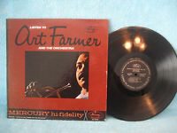 Listen To Art Farmer and The Orchestra, 1963, Mercury Records MG-20766, JAZZ