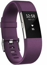 Fitbit Charge 2 Small Plum/silver -
