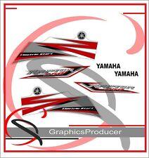 Yamaha Raptor 250 Replica Decals 2009 Model Graphics Stickers Reproduction Set
