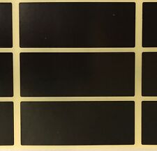 Large - Black 30 x 78mm Colour Code Rectangles / Filing / File Sticky Labels