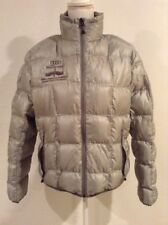 EDDIE BAUER First Ascent Women's 800 Fill Power Large Down Puffer Jacket Silver