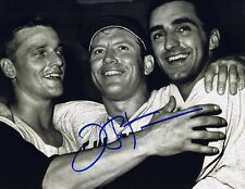 Joe Pepitone Signed Autographed 8x10 Photo - NY Yankees w/COA - W/Mantle & Maris