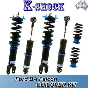 Ford Falcon BA-BF K-SHOCK coilover kit fully adjustable