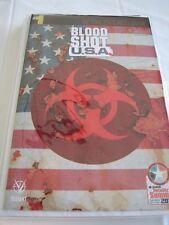 BLOODSHOT USA #1, BALTIMORE RETAILER EXCLUSIVE, NM, VALIANT (2012)