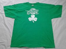 New Cleveland Cavaliers Lebron James St. Patricks 2 Sided Green Clover 2XL Shirt