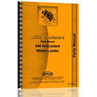New Parts Manual Made Fits Allis Chalmers AC Loader Model 940