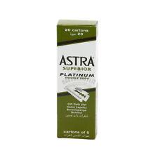 Astra - Lame Super Platinum da Barba per Rasoi Uomo Professionale 100 Lamette