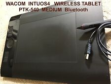 Wacom Intuos4 Bluetooth Wireless PTK-540 WL Wireless Grip Pen USB Cord