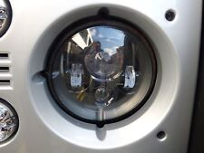 "Land Rover Defender 7"" LED headlights x2 DOT E Approved UK/EU 734B"
