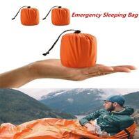 Waterproof Emergency Sleeping Bag Thermal Reusable Survival Camping Travel Bag