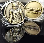 The Mandalorian Coin Bronze Color Star Wars Baby Yoda