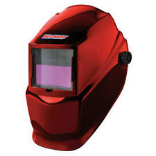 WESTWARD 22XX38 Auto Dark Welding Helmet,10,Red