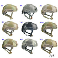 FMA Tactical High Cut XP Fast Helmet OPS Airsoft Paintball Climbing TB960