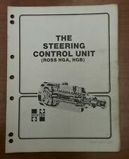 """Hyster """"The Steering Control Unit(Ross HGA, HGB)"""" Manual, 1600 SRM 58"""
