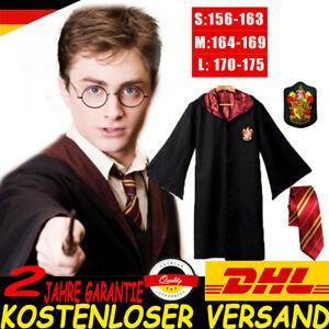HarryPotter Kostüm Umhang Schal Krawatte Gryffindor Halloween Karneva Teenager