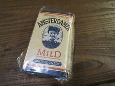 ancien paquet de tabac a pipe amsterdamer mild 50g pour collection uniquement