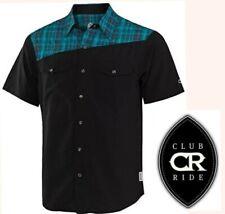 CLUB RIDE bolt jersey western pearl snap light stretch mountain bike shirt men M