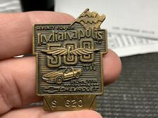 """1990 Indianapolis 500 Seventy Fourth """"S 620"""" Beautiful Vintage Rare Pit Pass"""
