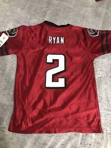 NWT Atlanta Falcons MATT RYAN NFL Jersey YOUTH KIDS BOYS Small 6 7 NEW