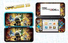 LEGO NINJAGO - vinyl Skin Aufkleber für Nintendo NEW 2DS XL - réf 205