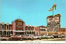 Silver Slipper Las Vegas NV Nevada Burlesque Cars Vintage UNUSED Postcard F45