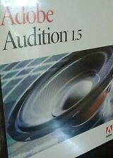 Adobe Audition 1.5 Software for Windows full Version CD and serial# **Genuine**