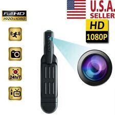 1080P HD Pocket Pen Camera Hidden Spy Mini Portable Body Video Recorder DVR