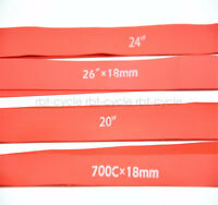 2PCS MTB Bike Inner Tire Liner Protector Rim Tape Strap Puncture 700C-27.5inch