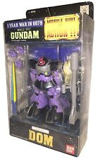 Action Figure MSIA MOBILE SUIT IN ACTION GUNDAM MS-09 DOM Bandai Japan usato