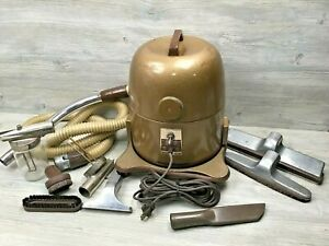 Vintage Rexair Rainbow Model D Canister Vacuum Cleaner w/Attachments Works