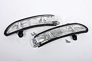 Genuine Wing Mirror Corner Lights Pair Fits Mercedes W216 W219 W211 W221  03-12