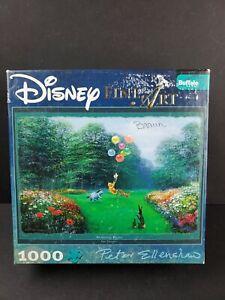 Buffalo Games Disney Fine Art Rescuing Piglet 1026 Pcs Jigsaw Puzzles Pooh RARE
