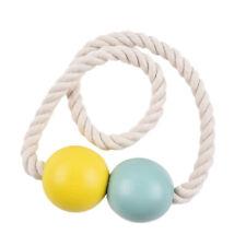Embrasse de Rideau Magnétiques Décoration Perles En Bois Paire