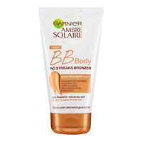 Tinted Body Lotion 150ml Garnier Ambre Solaire BB No Streaks Bronzer Bronzing