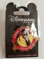 PIN'S EXCLUSIF CAST MEMBER DISNEYLAND PARIS - Cruella 2020 - 3020 ex.
