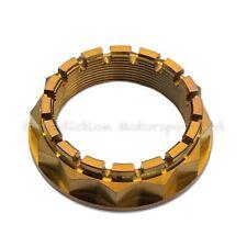 Ducati 1198, 1198S Corse, 1198SP, 1198R Bronze Titanium Rear Wheel Axle Nut