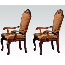 Chateau De Ville Arm Chair in Cherry 2 Piece Arm Chairs Dining room Chairs NEW