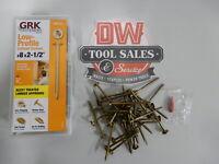 GRK THS82HP Trim HandyPak RT 8 by 2-Inch Composite Screws 100 Screws per Package GRK Fasteners 772691170774