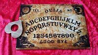 Wooden Ouija Board Game & Planchette ghost hunt bizarre spirit pentagram Magic