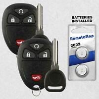 2 For Jeep Compass Patriot Wrangler 2012 2013 2014 2015 Car Remote Key Fob