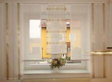 Gardinenset  5-teilig  neu-modern-Flächenteile Schiebevorhang in versch.  Farben