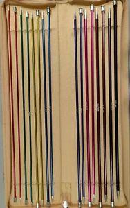 Knitpro Zing Straight Single Pointed Knitting Needle Sets: 25cm,30cm,35cm,40cm