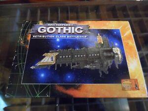 Battlefleet Gothic Retribution Class Battleship (OOP)