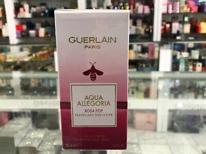 GUERLAIN AQUA ALLEGORIA ROSA POP TRAVELLERS EXLUSIVE EAU DE TOILETTE SPRAY 100ML