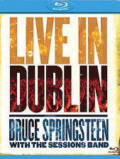 LIVE IN DUBLIN bruce springsteen with the sessions band  BLU RAY