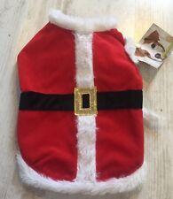 Brand New Pet Dog Santa Dress Up Costume Xmas Christmas